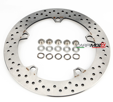 Stainless Front Disc Rotor Mount Bolts Screws BMW K1200 GT 08/>