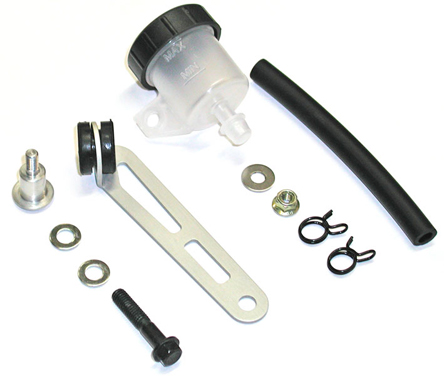 Bracket + Reservoir Mounting Kit for Brembo RCS Clutch Master Cylinder