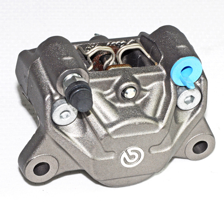 Brembo Rear Caliper P2 34, Color Titanium, 07BB2035 pads