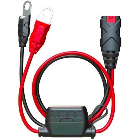 Noco GC002 X-Connect Eyelet Terminal, works with Noco, Bosch, 10A Fuse, Length 60cm