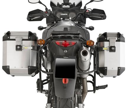 Telaio per valigie laterali MONOKEY SIDE Kappa/ 04/ 10 /Suzuki DL 650/V-Strom