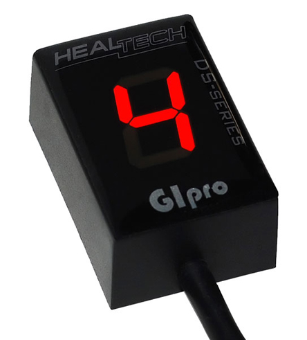 Gipro DS Gear Indicator for Suzuki, GPDS-S01, Red display