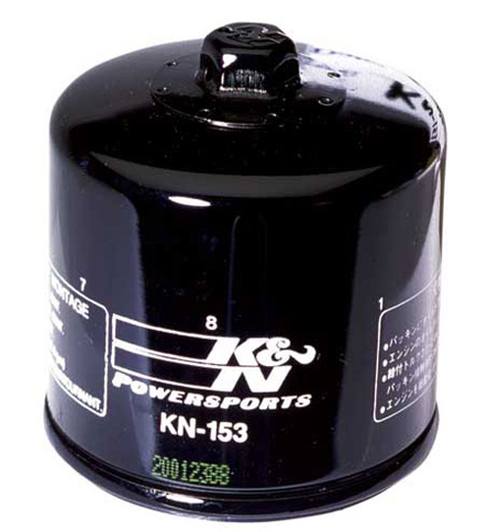 K&N Oil Filter KN-153, for Ducati engines