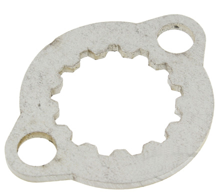 Front Sprocket Retairner Plate replaces the plate of the oem KTM part 90833029044