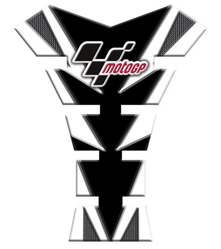 MotoGP Design Tank Pad, color Black / Carbon