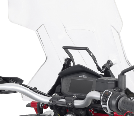 Givi FB8203 Smartphone / GPS Navigator Mounting Bar Kit for Moto Guzzi V 85 TT