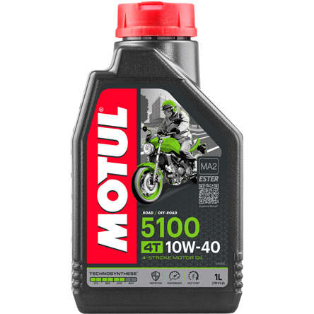 Motul 5100 10W-40, 1 liter Engine oil