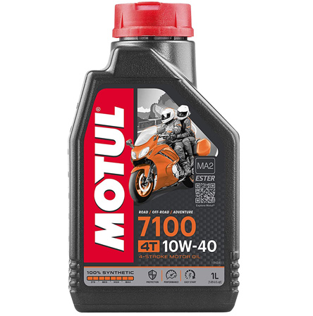 Motul 7100 10W-40, 1 liter Engine oil