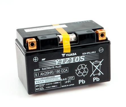 batteria yuasa ytz10s