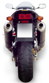 Akrapovic Complete Racing Exhaust System Honda VTR 1000 SP2/RC51 02- ; 2-2 Full Titanium mufflers with Titanium sleeve