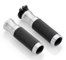 "Rizoma ""Sport Line"" Grips, color Silver, 1 pair"