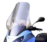 "Fabbri Windshield Piaggio MP3 125 06-07, 250 06-08, 400 07-08, ""Exclusive"" type, dim 600x850mm"