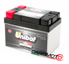 Unibat Lithium eXtra BMS Battery ULT1, CCA 150A, Capacity 2,5Ah, Weight 0,51 Kg, dim. 113x68x85