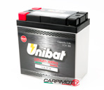 Unibat Lithium eXtra BMS Battery ULT3, CCA 300A, Capacity 5Ah, Weight 0,95 Kg, dim. 135x75x139mm