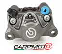 Brembo Rear Caliper P2 34, Ø 34mm piston, mounting distance 84 mm, color Titanium, 07BB2035 pads
