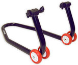 Paddock Front Stand CM06C with cone sliders; please specify your bike model year