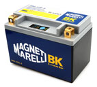 Magneti Marelli Lithium Battery MMYX9, CCA 180A, Weight 0,7 Kg, equivalent YTX9-BS YTR9-BS, YT12A-BS; LH polarity, 149x86x105 mm, 2,8 Kg save on Yuasa YT12A-BS