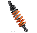 Matris Rear Shock Absorber for Honda X-ADV, KD version; adjustments : Rebound, Height, Spring Preload