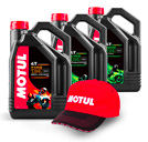 Motul 4 liters Engine oil + Free Cap