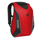 Zaino Ogio No Drag Mach 5, Aerodinamico a Compartimenti Polifunzionali, Red Limited Edition