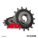 JT Sprockets Rubber Cushioned Front Sprocket for Kawasaki Z750 04-12, Z800, 520 chain, 15 teeth