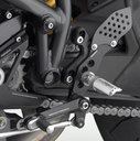 Rizoma REV Rear Sets Ducati Streetfighter, color Black