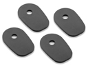 Indicator Mounting Adapters for Kawasaki models and Yamaha up to 2001, kit for a pair of indicators