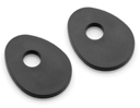 Indicator Mounting Adapters for Triumph Bonneville, Scrambler, Thruxton, America, Speedmaster, kit for a pair of front indicators