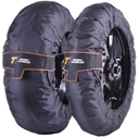 Thermal Technology Performance SE Motorcycle Tyre Warmers, 1 Set SuperSport / SuperStock tire warmers, color Black, size XL
