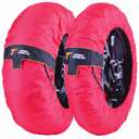 Thermal Technology Performance SE Motorcycle Tyre Warmers, 1 Set SuperSport / SuperStock tire warmers, color Red, size XL