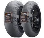 Thermal Technology Race Motorcycle Tyre Warmers, 3 STEPS Temperature, 1 Set Superbike / Supersport tire warmers, size XL