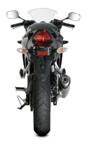 Akrapovic Racing Exhaust for Honda CBR250R with db killer removable silencer