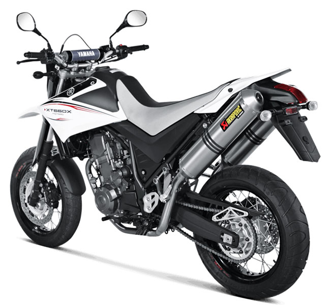 akrapovic exhaust ss y6so5 hdt for yamaha xt 660 x 07. Black Bedroom Furniture Sets. Home Design Ideas