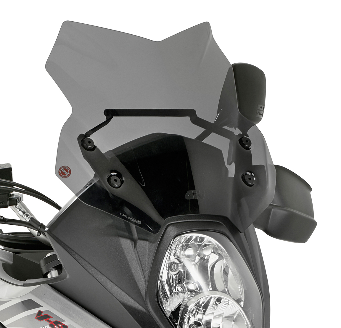 GIVI AF3112 Airflow Windscreen for Suzuki V-Strom 650 17-18 Clear