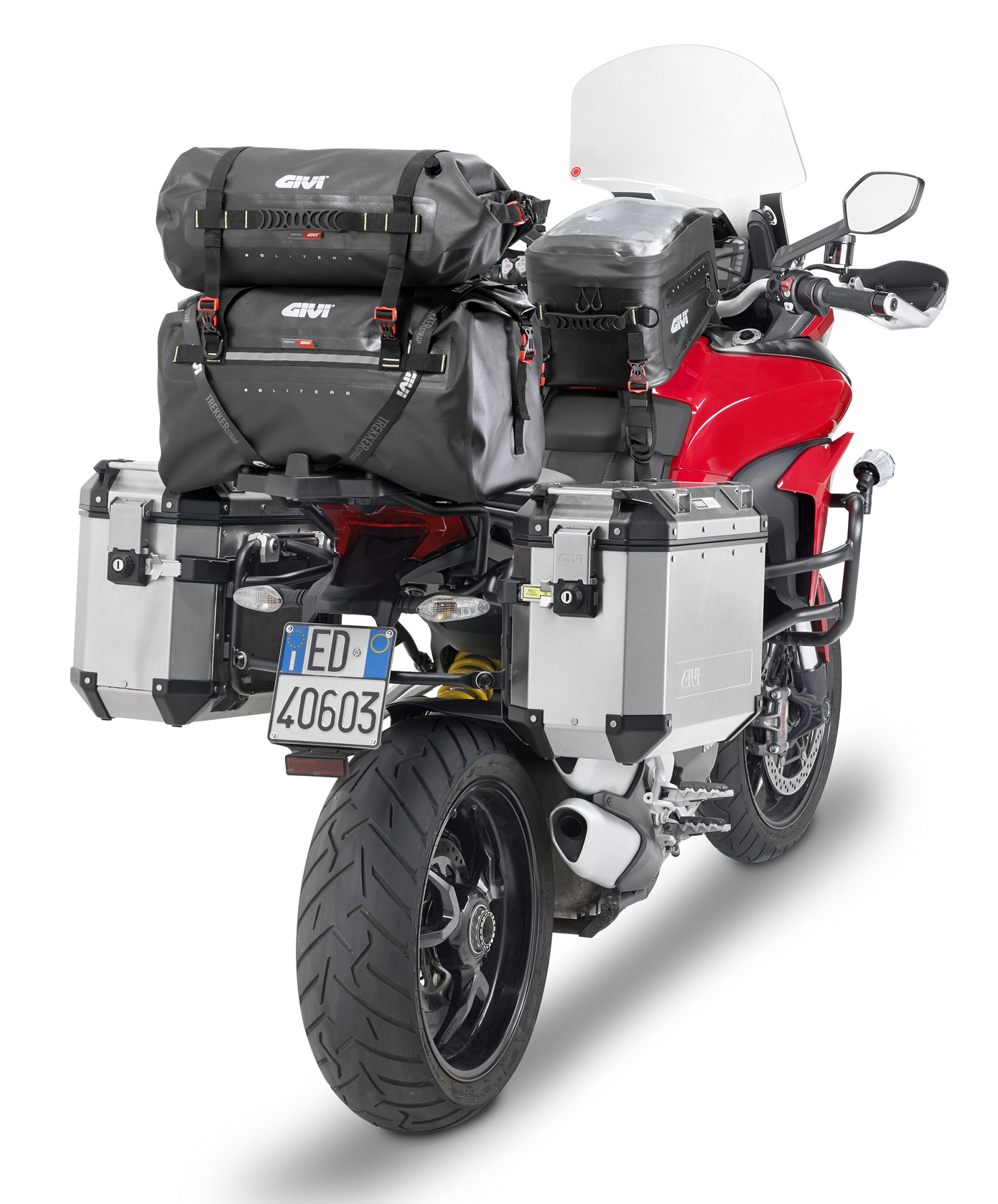 Tankrucksack Ducati Hypermotard 821 Givi GRT705 20 Liter