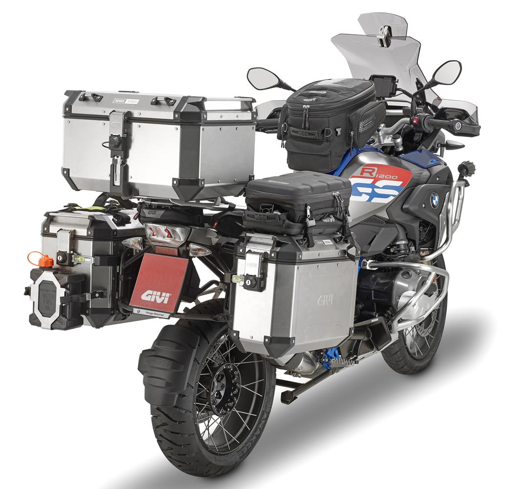 portavaligie laterale bauletti monokey side per honda crossrunner GIVI Supporto