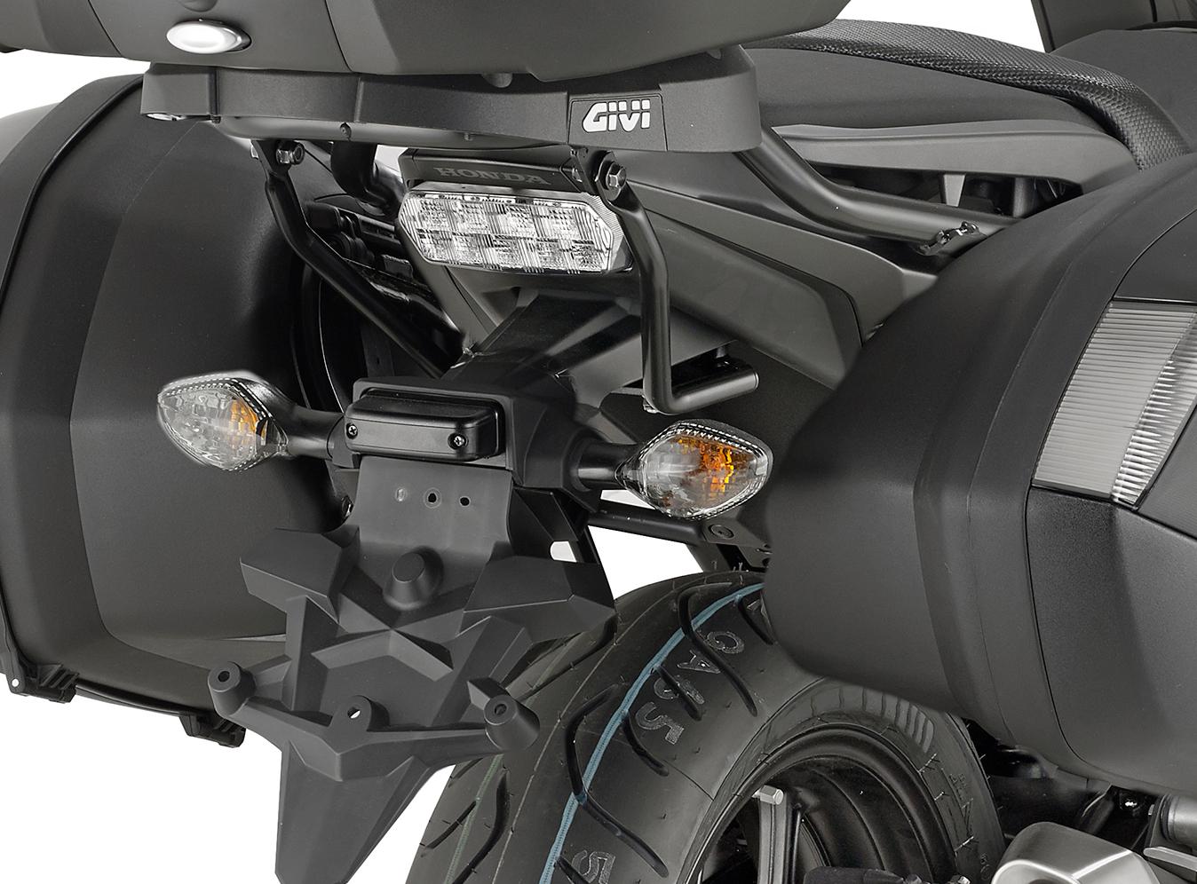 4e6ca615 Givi PLX1150 Specific Pannier Holder for V35 / V37 Monokey Side Cases for  Honda Integra 750