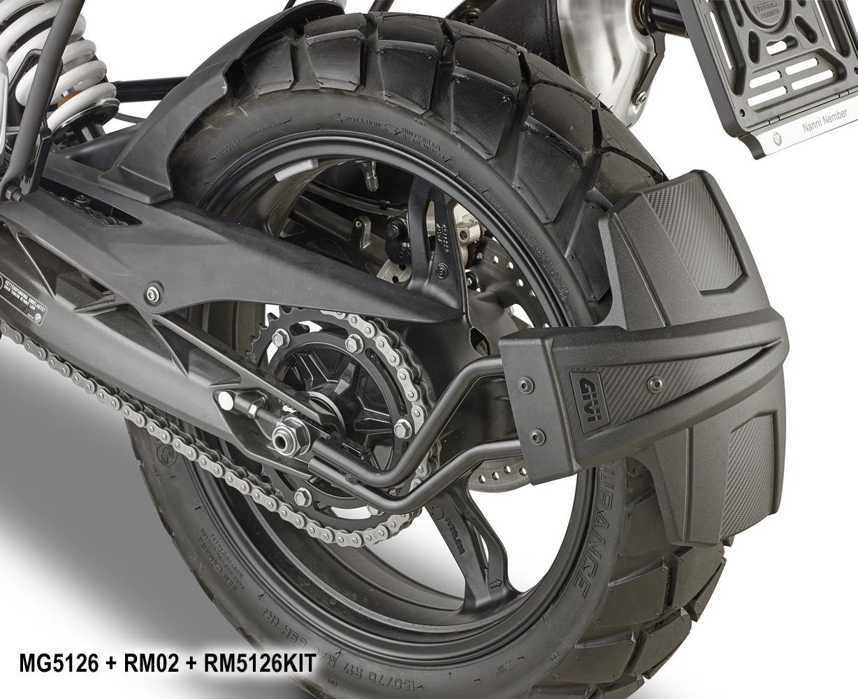 Garde Boue roue arrière Givi Givi_RM5126KIT_RM02_Mudguard_Rear_Fender_Parafango_BMW_G310-GS