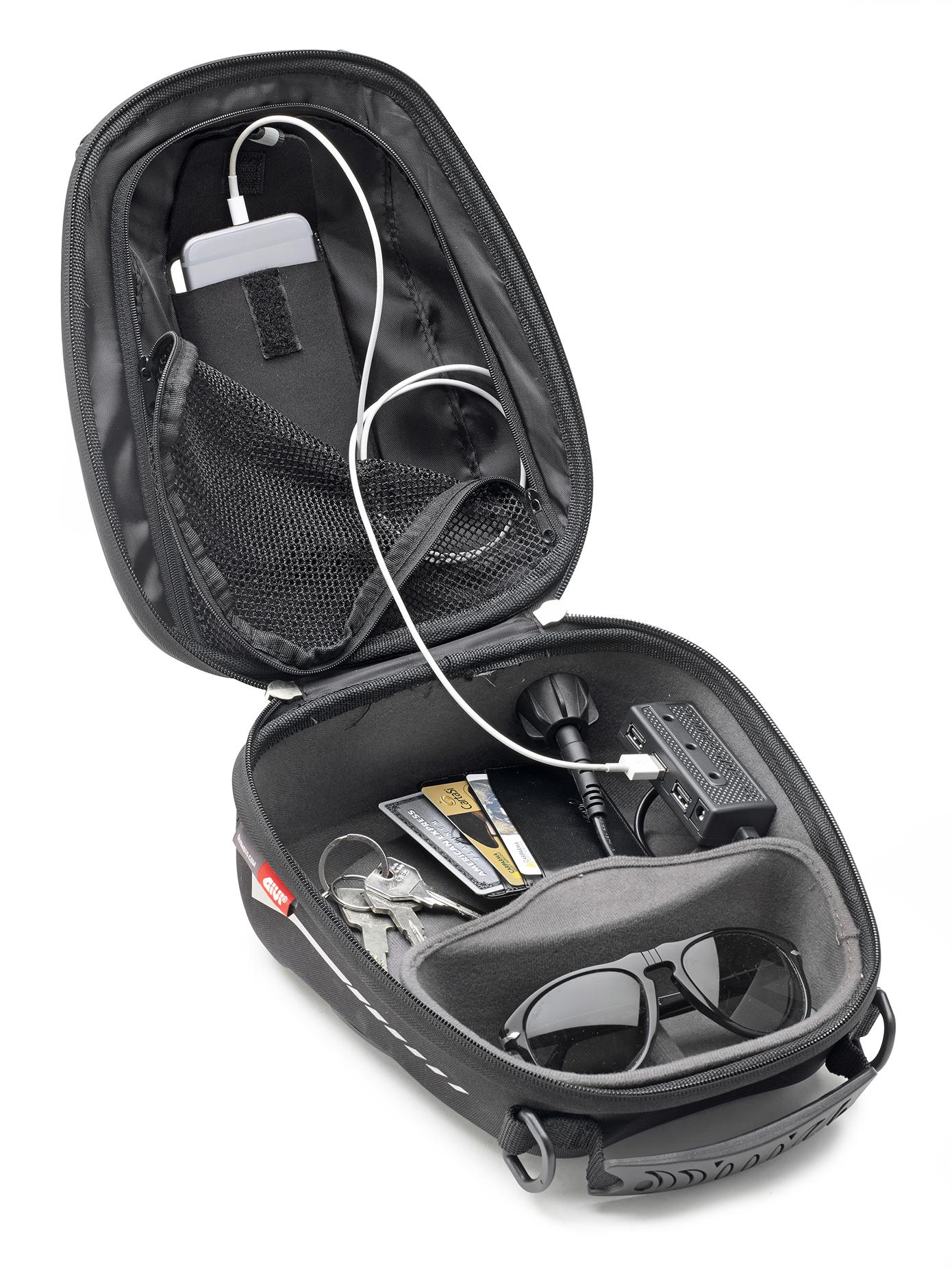 GIVI TANK BAG TANKLOCK ST602B FLANGE SUZUKI DL 650 V-STROM L2-L3 2016 16