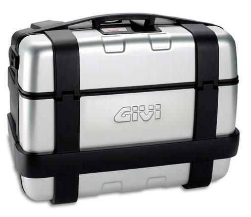 Valigia bauletto moto Suitcase Givi Trekker 46 Bmw F800 R 850 1100 1150 1200 GS