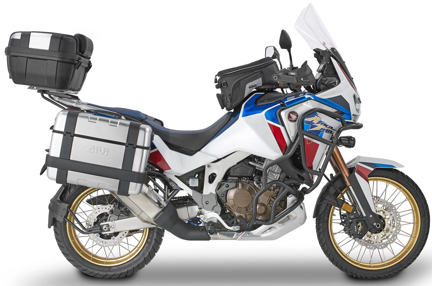 Extensi/ón de Caballete Lateral ES1178 GIVI Compatible con Honda CRF 1100 L Africa Twin Adventure Sport 2020 EST.CAV-197