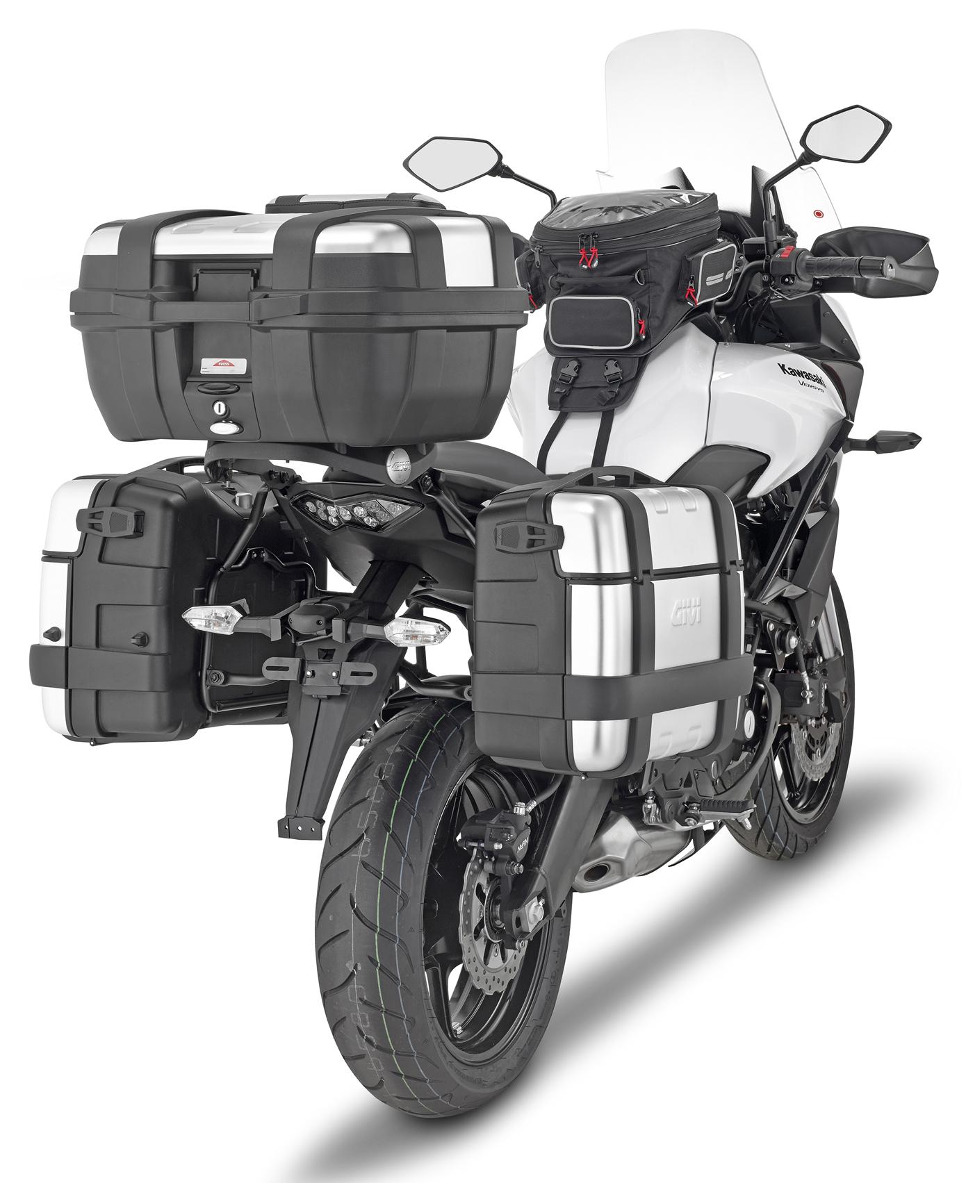 Givi TRK46N Trekker Monokey 46 Litre Motorcycle Top Box Pannier UK stock