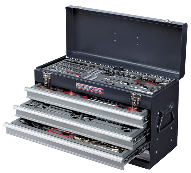 KRAFTWERK 1046 Kraftwerk Case with 100 metric ToolsKraftwerk Tools