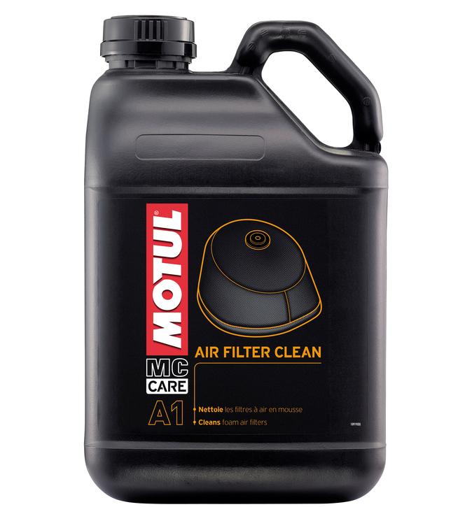 Foam Air Cleaner : Motul air filter cleaner