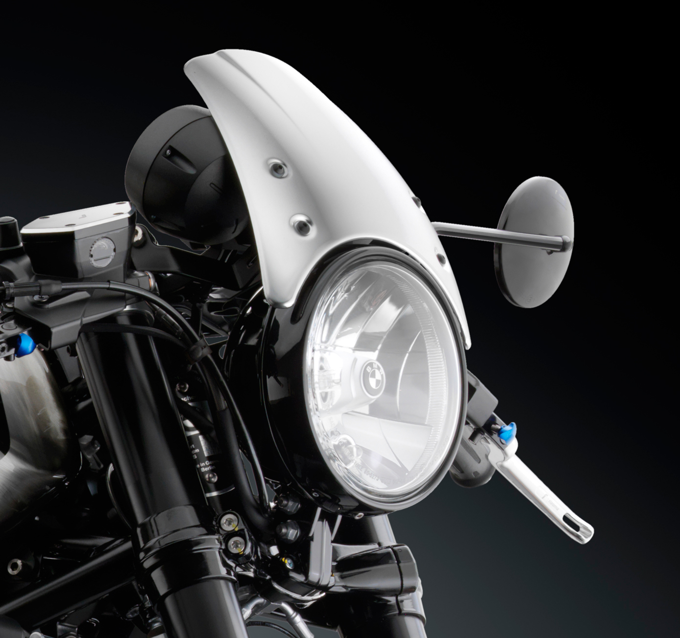Rizoma Aluminum High Headlight Fairing w/ Mounting