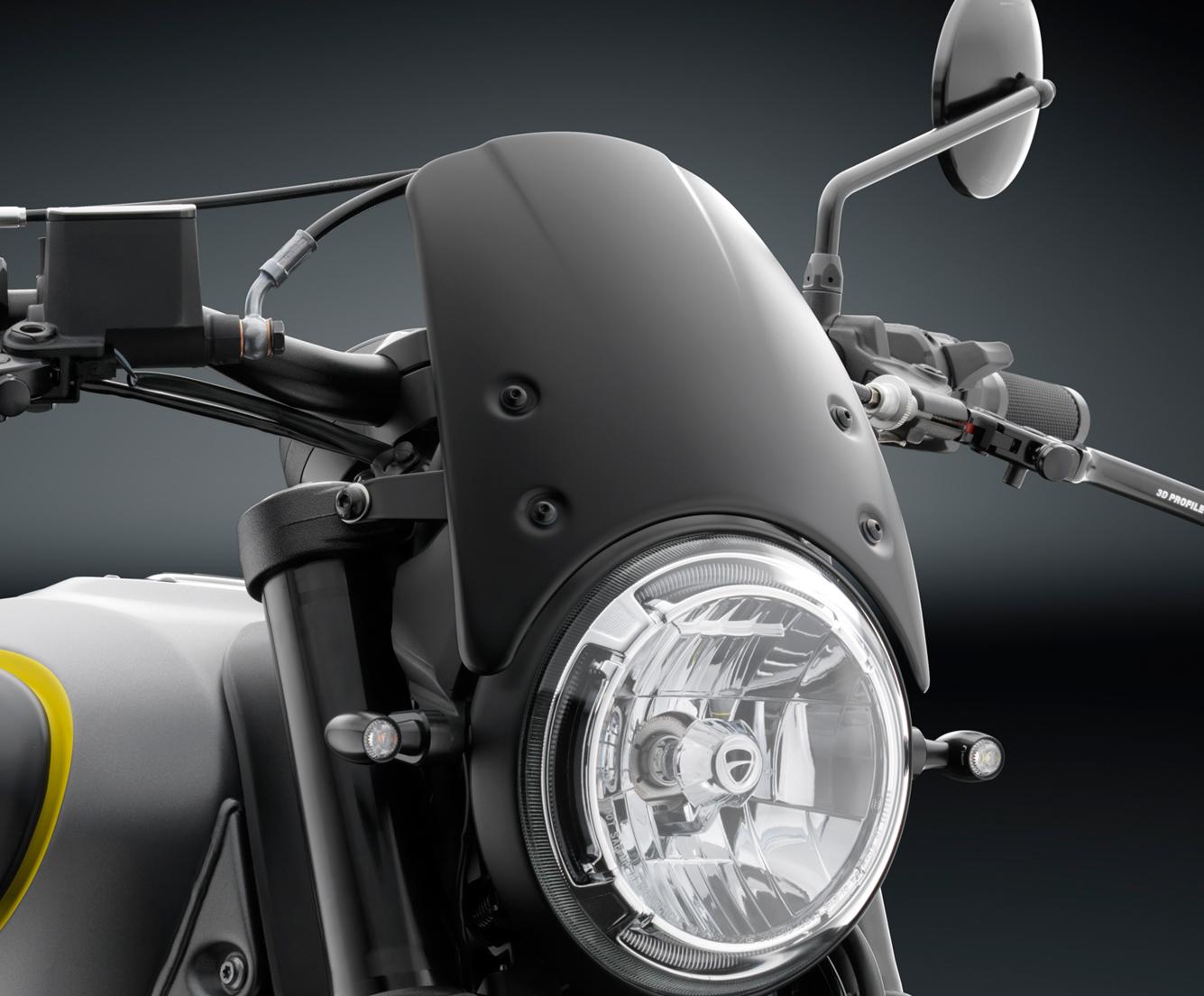 aluminum headlight fairing color silver