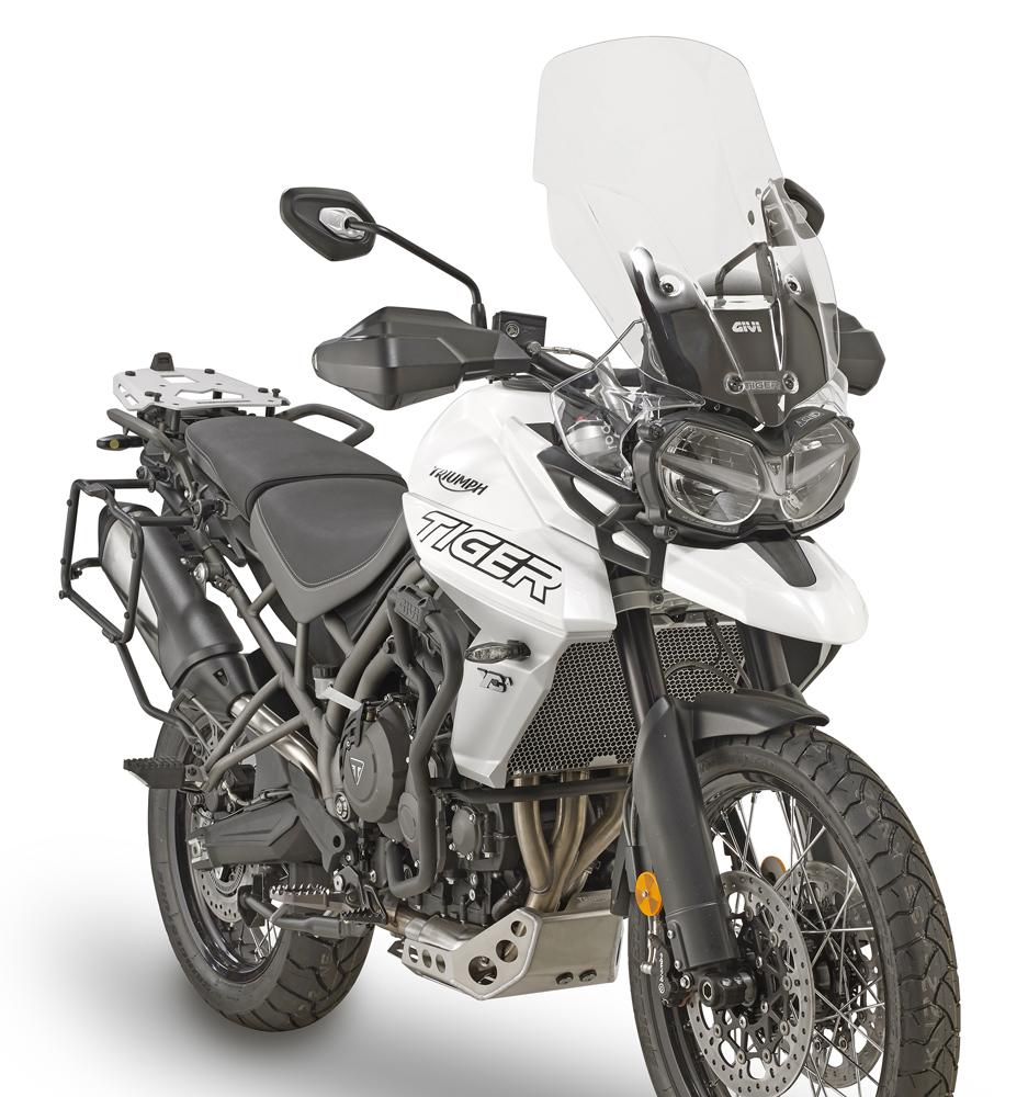 Triumph Tiger 800 >> Givi Sra6401 Triumph Tiger 800 800 Xc 800 Xr 11 Aluminum Rear Rack Specific For Monokey Top Case