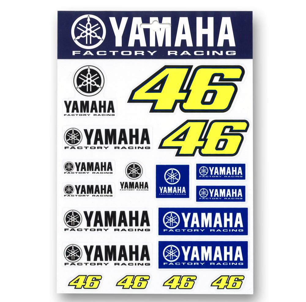VR46 Stickers Set YDUST214203
