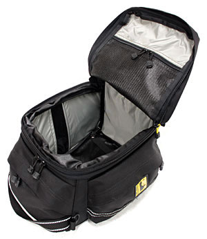 Wolfman Tail Bag Capacity 19 5 Expands To 24 Liters Bungi And Hook System Color Black