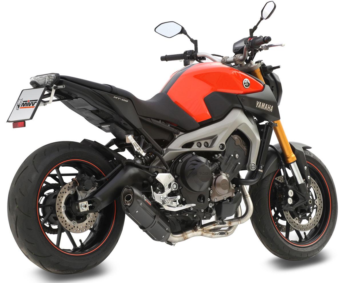 Mivv full exhaust for Yamaha fz09 parts